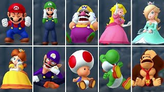 Mario Party Series - Character Losing Animations