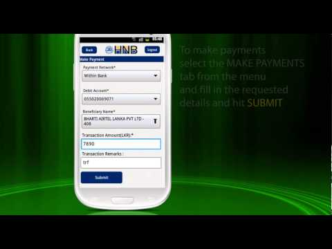 Android Phone Mobile Banking Demo