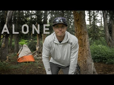 Backpacking Alone In The Wind Rivers -  In Search Of Brook Trout