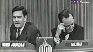 "Louis Jourdan on ""What's My Line?"""