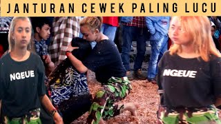 Cewek Kerasukan Paling Lucu Dan Menghibur Penonton || Atraksi Kuda Lumping Tkp Kali Ireng