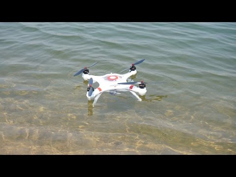Water Play Mariner Quadcopter with Drift HD Ghost Aerial version