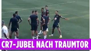 Nach Traumtor: Neymar macht auf Cristiano Ronaldo