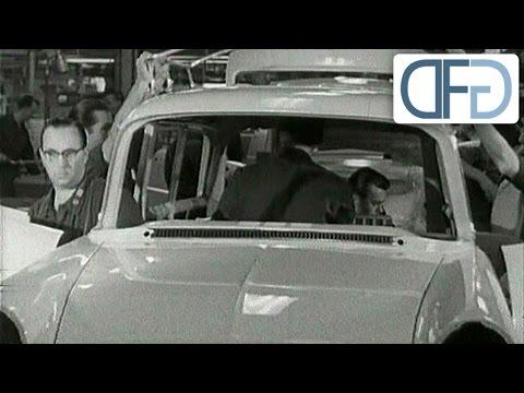 Opel-Werk Rüsselsheim 1958 - Eine historische TV-Reportage (4/5)