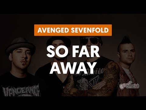 So Far Away - Avenged Sevenfold (aula de guitarra e violão)