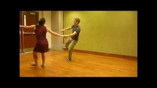 SAA April 2012 Intermediate Lindy Hop Class 1