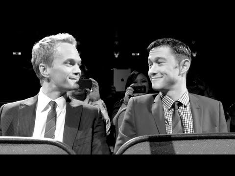 "Neil Patrick Harris and Joseph Gordon-Levitt in ""Love: A Tragedy"""