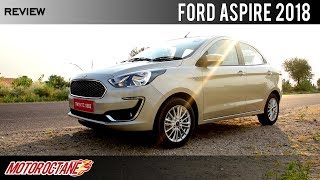 Ford Aspire 2018 Review | Hindi | MotorOctane