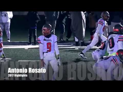 Antonio Rosato 2017 Highlights - Staten Island Hurricanes AKA The SHO