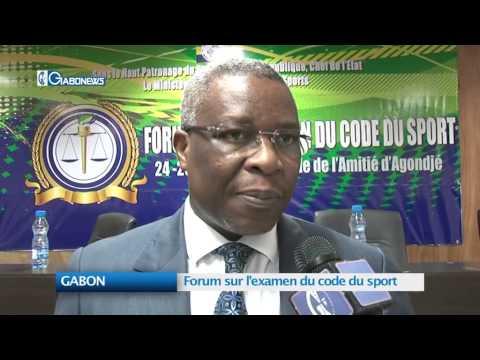 GABON : Forum sur l'examen du code du sport