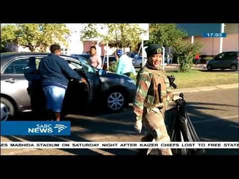 Dr. Motsoaledi visits the Mahikeng Provincial Hospital
