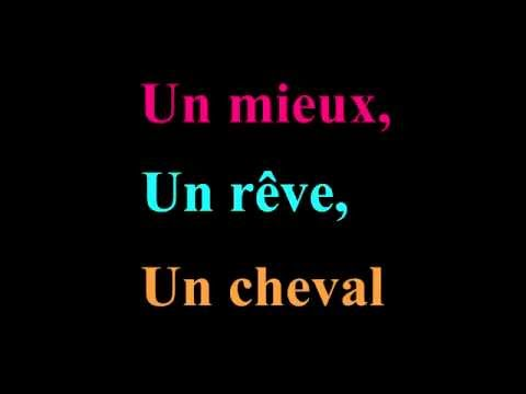 Alain Souchon - Foule Sentimentale (lyrics)
