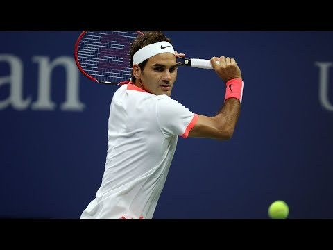 2017 US Open: Across The Net From Federer