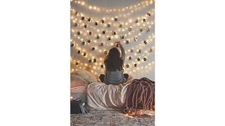 Holiday Light Review 2018! 66 Ft 200LEDs Waterproof starry fairy copper string lights USB Powered..