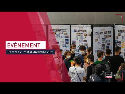 Rentrée Climat et Diversite 2021 à Télécom Paris