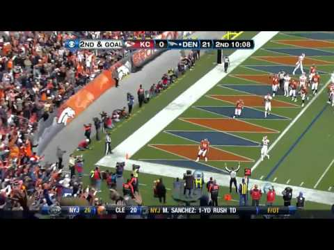 Tim Tebow (Denver Broncos) highlights 2010