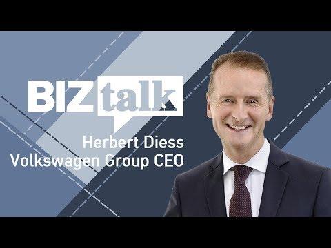 BizTalk: Volkswagen Group CEO Herbert Diess On The Auto Industry's Future