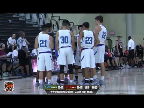 Stanco Stampede 17u vs Team Superstar Green 17u Boys Basketball LIVE FULL GAME 8/6/17