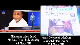 Prophet Jeremiah Prophesied the Death of Two Famous Politicians