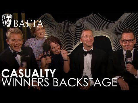 Casualty on Winning Soap & Continuing Drama | BAFTA TV Awards 2018