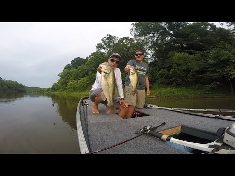 Wills Creek Bass Fishing