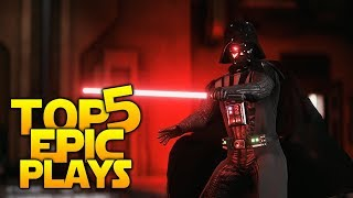 ROGUE ONE BUT ON KAMINO - Battlefront 2 Top 5 Plays