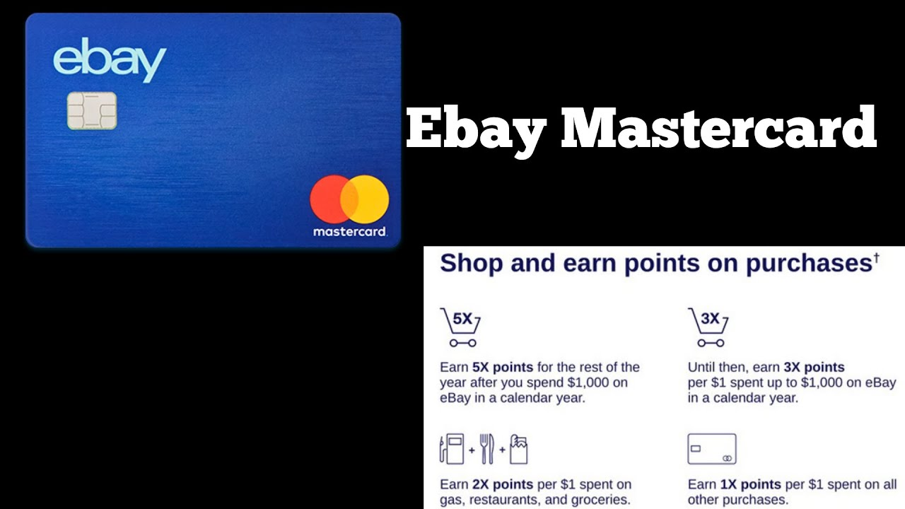Ebay Mastercard By Synchrony Bank (Approved)