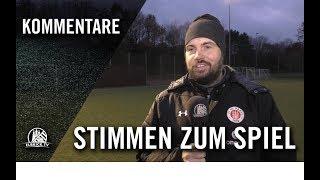 Stimmen zum Spiel | FC St. Pauli U16 - Hamburger SV U16 (7. Spieltag, B-Junioren Regionalliga Nord)