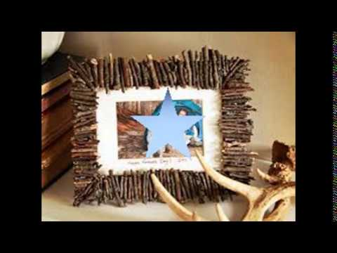 Handmade Photo Frames with Handmade Paper Step By Step - YouTube