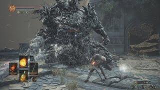 【PS4】DARK SOULS 3 - #24 ・深みの聖堂⑥&ファランの城塞①(NPCイベント、祭壇の火①を消す)