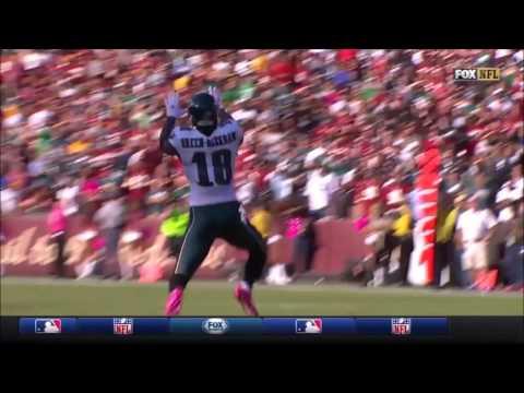 All Carson Wentz Throws vs. Redskins (Week 6 - 2016)