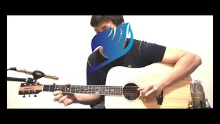 Fairy Tail (フェアリーテイル) Main Theme - Extreme Version Acoustic Fingerstyle Guitar HD
