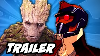 Guardians Of The Galaxy TV Series Trailer - I Am Groot