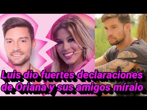 Luis dio una entrevista fuerte sobre su ruptura con Oriana