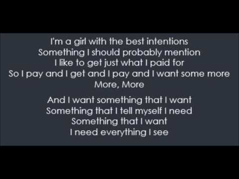 Something That I Want - Grace Potter & Bethany Joy Lenz (Lyrics)