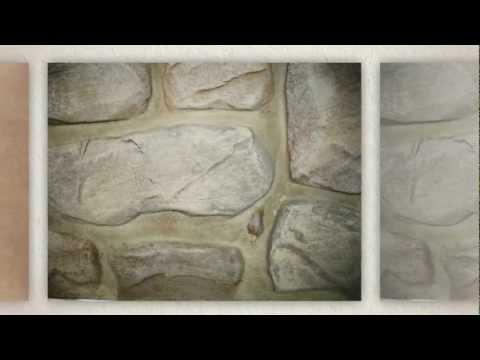 Faux finis fausses pierres et fausses briques youtube - Fausses briques murales ...
