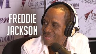"Freddie Jackson Talks Luther Vandross ""Rivalry,"" Dramatic Weight Loss + Valarie Simpson"