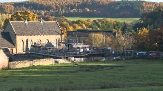 Beamish Museum   Davy's Coal Fired Fish & Chip Shop Build Timelapse