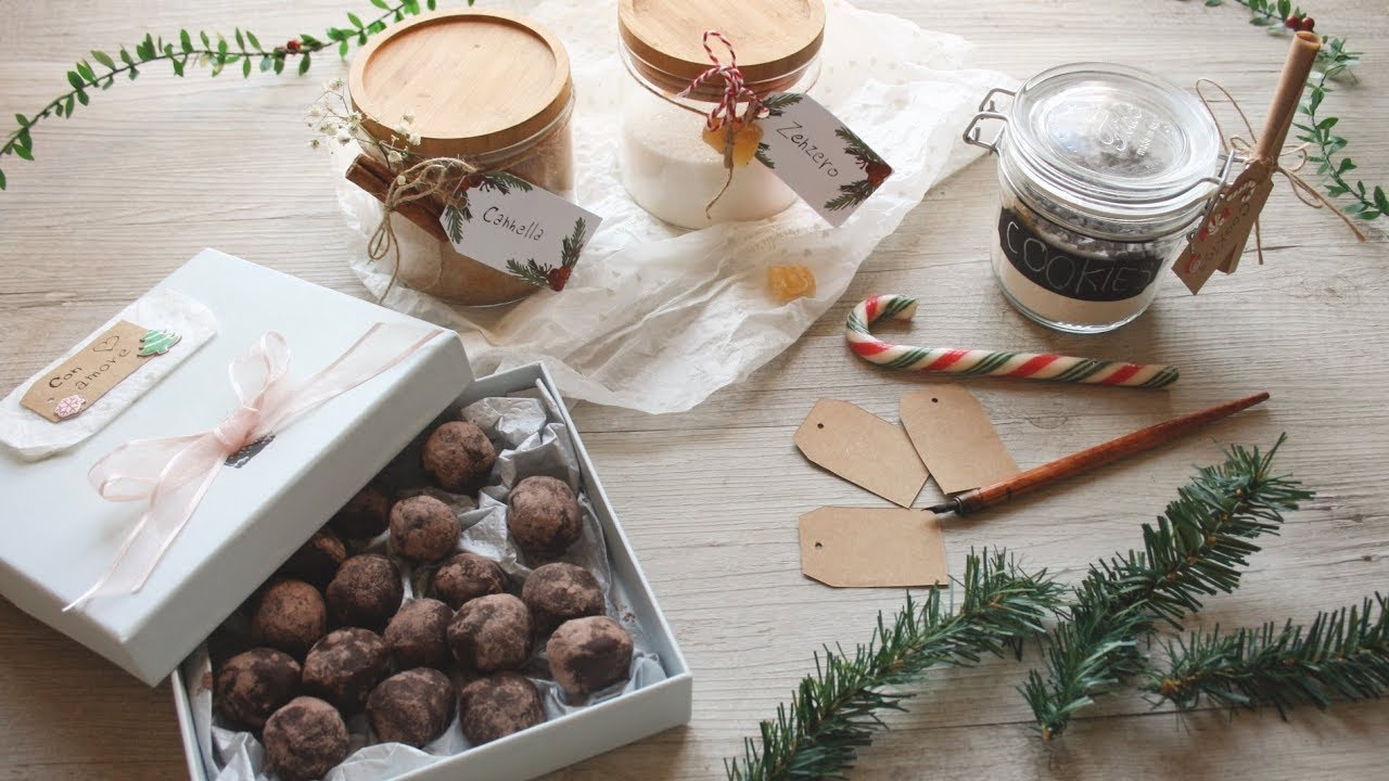 Idee Regalo Natale Fai Da Te Cucina.3 Idee Regalo Fai Da Te Youtube
