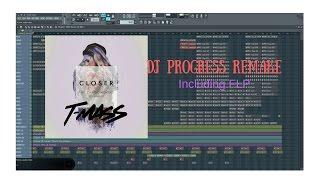 Closer - The Chainsmokers (T-Mass Remix) - Remake FLP