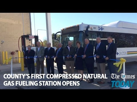 Times Today: County's first compressed natural gas fueling station opens