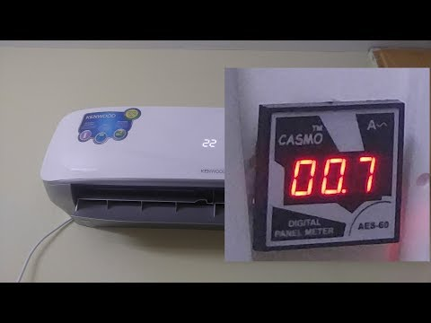 Inverter AC Power Consumption (Kenwood 3 DC Inverter Airconditioner)