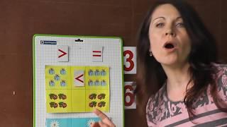 Учим ЧИТАТЬ детей.Сравниваем числа + читаем СЛОВА + МАТЕМАТИКА. КАК НАУЧИТЬ ЧИТАТЬ.Занятие №20