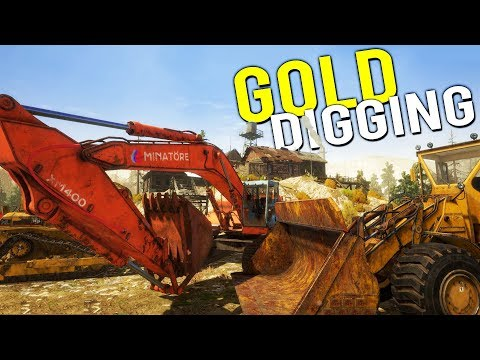 Our NEW GOLD DIGGING COMPANY! Making Money Panning for Gold! - Gold Rush Full Release Gameplay