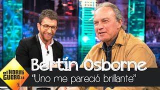 La impresión de Bertín Osborne sobre Casado, Rivera y Abascal - El Hormiguero 3.0