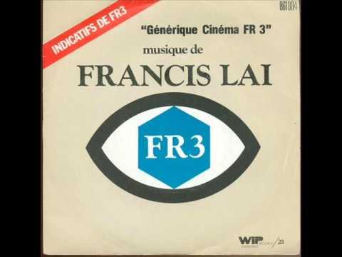 FRANCIS LAI  générique cinéma fr3   les étoiles du cinéma       ( 1973 )