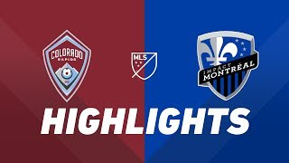 Colorado Rapids vs. Montreal Impact | HIGHLIGHTS - August 3, 2019