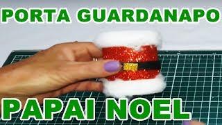2 MODELOS DE PORTA GUARDANAPO PAPAI NOEL