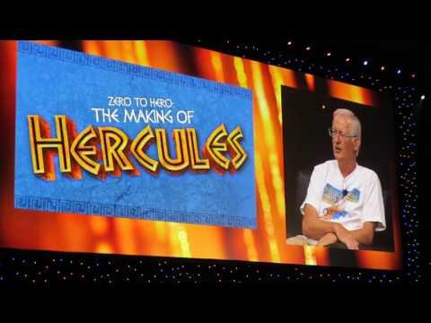 Zero to Hero - Hercules (D23 Expo 2017 Highlights)