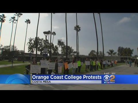 Orange Coast College Students Divided Over Free Speech After Professor's Trump Comments